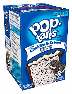 Frosted Cookies & Creme Pop-Tarts