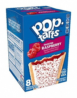 Frosted Raspberry Pop-Tarts (12 x 8 pastries)