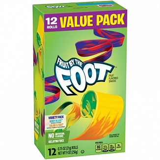Fruit By The Foot Value Pack (6 x 256g)