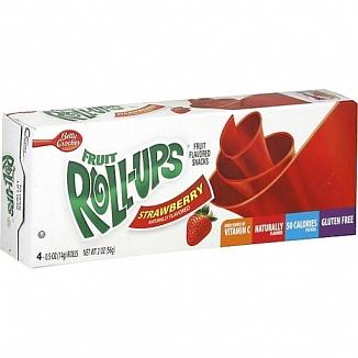 Fruit Roll-Ups Strawberry Sensation (18 x 56g)