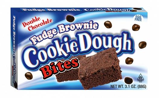Fudge Brownie Cookie Dough Bites (Box of 12)