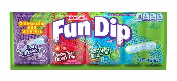 Fun Dip 3 Flavours (24 x 39g)