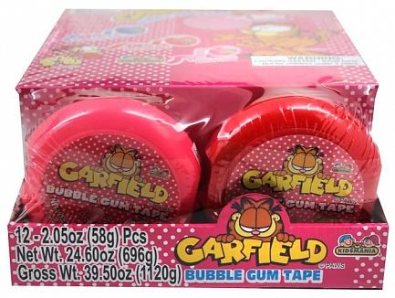 Garfield Bubble Tape (12 x 58g)