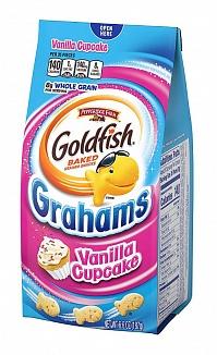 Goldfish Crackers Grahams Vanilla Cupcake (24 x 187g)