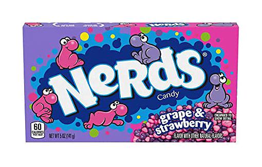 Grape & Strawberry Nerds (12 x 141g)