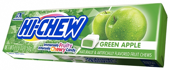 Hi-Chew Green Apple (15 x 50g)