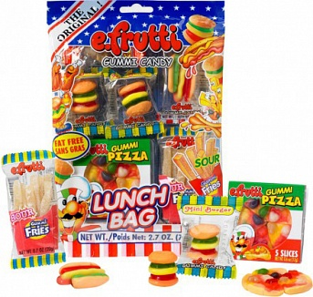 Gummi Lunch Bags (Box of 12)