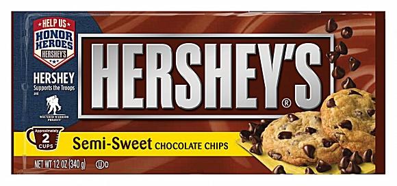 Hershey's Baking Chips Semi-Sweet Chocolate (12 x 340g)