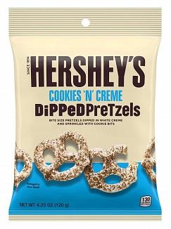 Hershey's Cookies 'n' Creme Dipped Pretzels (12 x 120g)