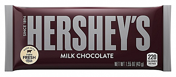 Hershey's Milk Chocolate (Box of 36)
