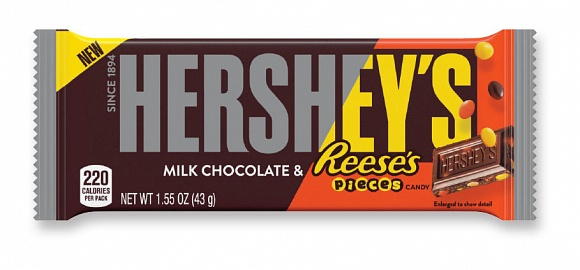 Hershey's Milk Chocolate & Reese's Pieces (36 x 43g)