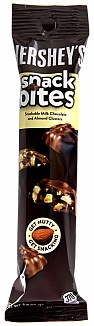 Hershey's Milk Chocolate with Almonds Snack Bites (Box of 10)