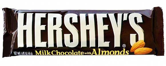 Hershey's Milk Chocolate with Almonds (Box of 36)
