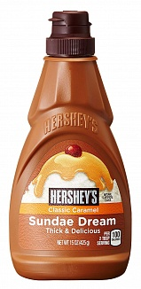 Hershey's Syrup Sundae Dream Classic Caramel (6 x 425g)