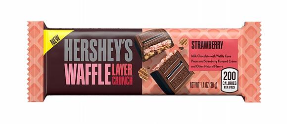 Hershey's Waffle Layer Crunch Strawberry (20 x 40g)