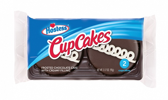 Hostess CupCakes Chocolate 2 Pack (6 x 90g)
