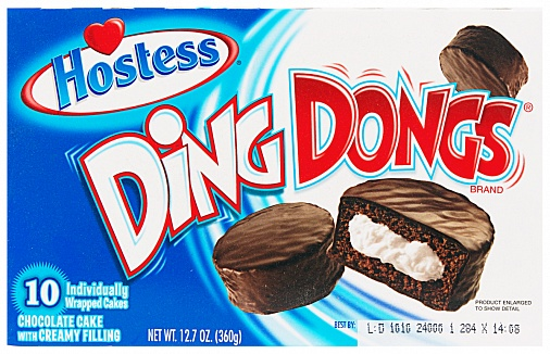 Hostess Ding Dongs (Box of 10)