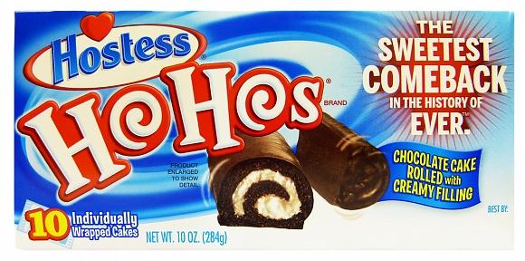 Hostess Ho Hos (Box of 10)