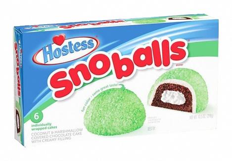 Hostess SnoBalls (Box of 6)