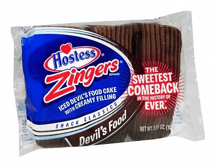 Hostess Zingers Devil's Food 3 Pack (6 x 108g)