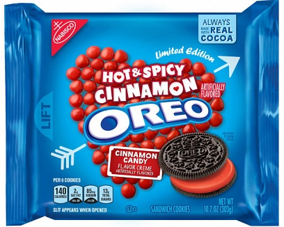 Hot & Spicy Cinnamon Oreos (303g)