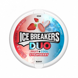 Ice Breakers Duo Strawberry (Box of 8)