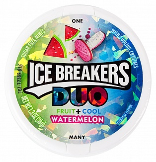 Ice Breakers Duo Watermelon (Box of 8)