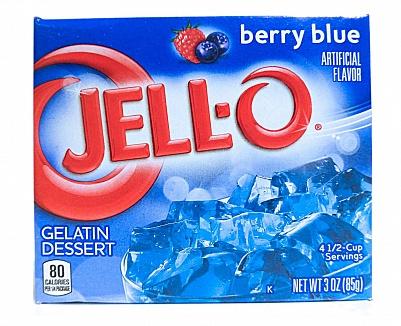 Jell-O Berry Blue (85g)