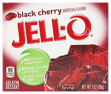 Jell-O Black Cherry (Box of 24)