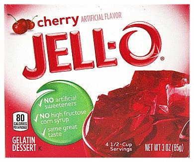 Jell-O Cherry (Box of 24)