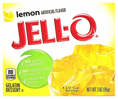 Jell-O Lemon (Box of 24)