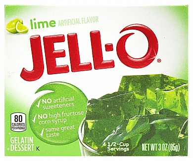 Jell-O Lime (Box of 24)