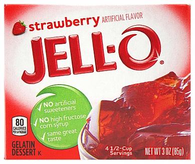 Jell-O Strawberry (Box of 24)