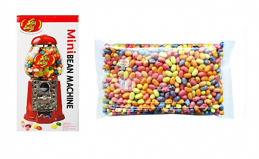 Jelly Belly Mini Bean Machine with 1kg Smoothie Blend Beans