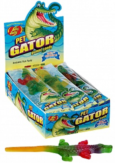 Jelly Belly Pet Gator Gummi Candy (Box of 12)