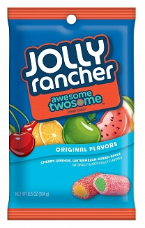 Jolly Rancher Awesome Twosome Chews (12 x 184g)