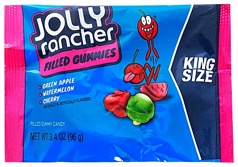 Jolly Rancher Filled Gummies (King Size) (Box of 12)