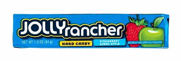 Jolly Rancher Strawberry & Green Apple Stick Packs (Box of 12)