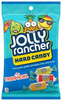 Jolly Rancher Hard Candy Tropical (12 x 184g)
