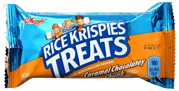 Rice Krispies Treats Caramel Chocolatey Chunk Bars (Box of 20)