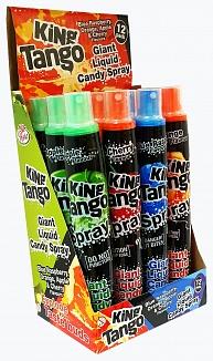 King Tango Assorted Giant Candy Sprays (12 x 80ml)