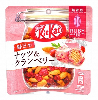 Kit Kat Mini Nuts and Cranberry Ruby (12 x 31g)