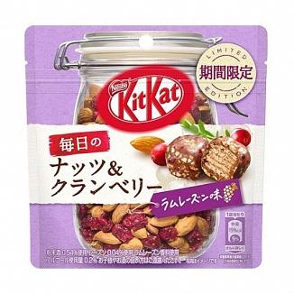Kit Kat Mini Nuts and Cranberry Rum & Raisin (10 x 36g)