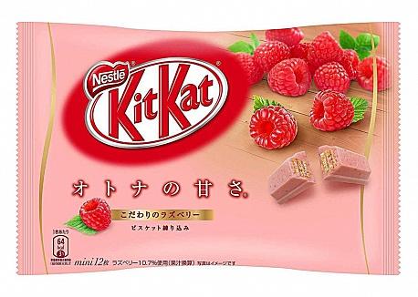 Kit Kat Mini Raspberry 12 Pack (12 x 135g)