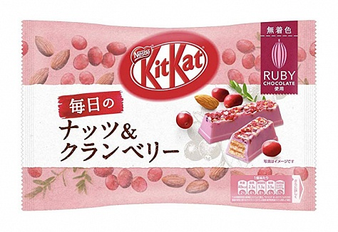 Kit Kat Ruby Rich Cranberry & Almond (12 x 87g)