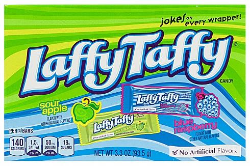 Laffy Taffy Sour Apple & Blue Raspberry (93.5g)
