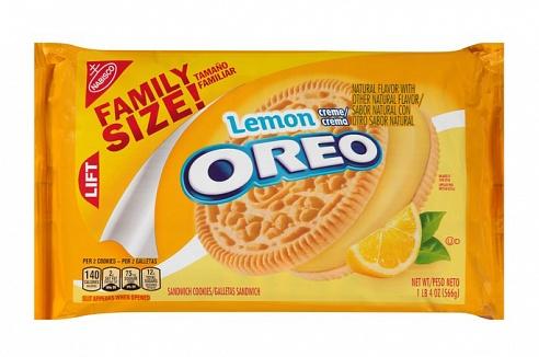 Lemon Creme Oreos Family Size (12 x 566g)