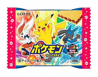 Lotte Pokemon Wafers Chocolate (30 x 23g)