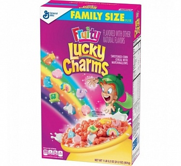 Lucky Charms Fruity Family Size (8 x 601g)