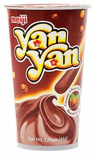 Meiji Hazelnut Yan Yan (Box of 10)